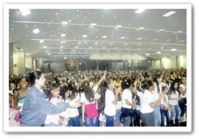 Proerd realiza formatura com mais de 1500 crianças na AD São Mateus