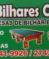 Bilhares Globo – Bilhar em Taboão da Serra