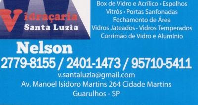Vidraçaria em Guarulhos – Vidraçaria Santa Luzia