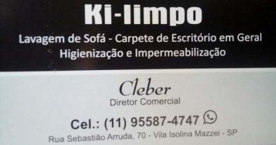 Ki limpo – Limpeza de Estofados