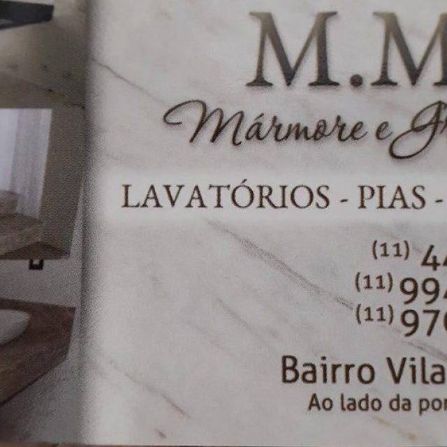 M.M Mármores e Granitos em Mairiporã